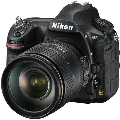 Nikon D850 with AF-S 24-120mm f/4 G ED VR Lens Kit