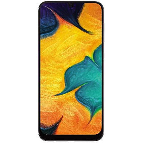 Samsung Galaxy A30 (Black, 4GB RAM, 64GB Storage)