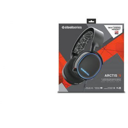 SteelSeries 61463 Arctis 7 Lag-Free Wireless Gaming Headset with DTS Headphone:X 7.1 Surround for PC, PlayStation 4, VR, Mac and Wired for Nintendo Switch, Android and iOS - Black