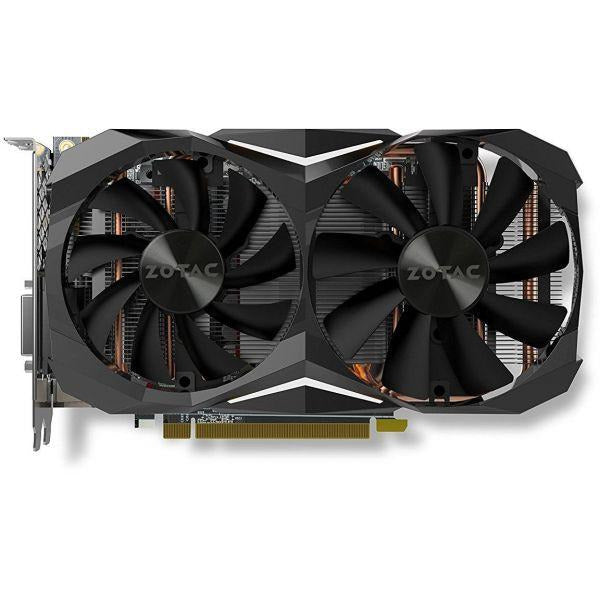 ZOTAC GeForce GTX 1070 Ti MINI 8GB GDDR5 256-bit Super Compact Gaming Graphics Card IceStorm Cooling, Metal Backplate, LED Lit (ZT-P10710G-10P)