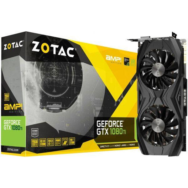 Zotac GeForce GTX 1070 Ti AMP Edition 8GB GDDR5, 256-bit Graphic Card - ZT-P10710C-10P