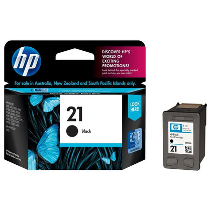 Hp 21 black original cartridge