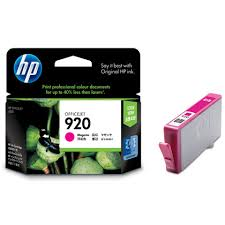 hp 920 colored  cartridge
