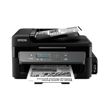 Epson M200 Printer with 3 in 1 with Continuous Inking System (Monochorme)