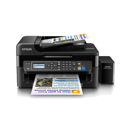 Epson L565 Printer with 4 in 1, Wi-Fi & ADF with Continuing Inking System