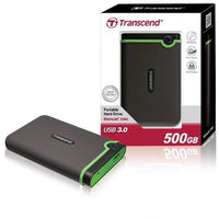 Transcend 500GB External HDD 25M3