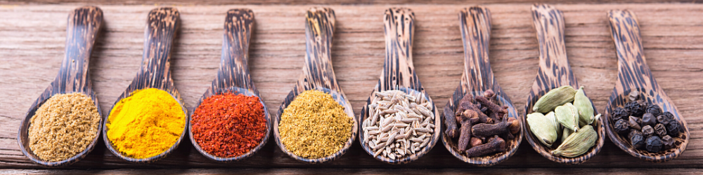 Adaptogens and Antioxidants, Food Sources in Spoons