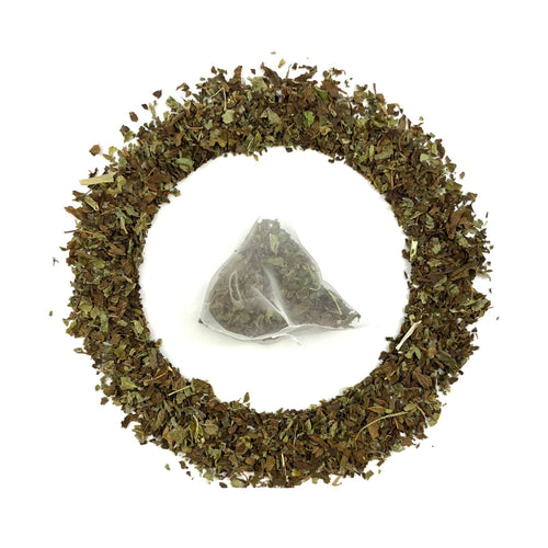 Lemon Balm loose, and with tea bag