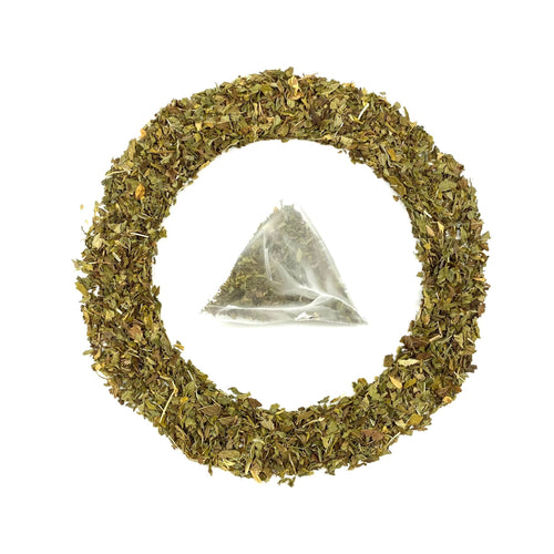 Spearmint Tea, loose with extra large tea bag