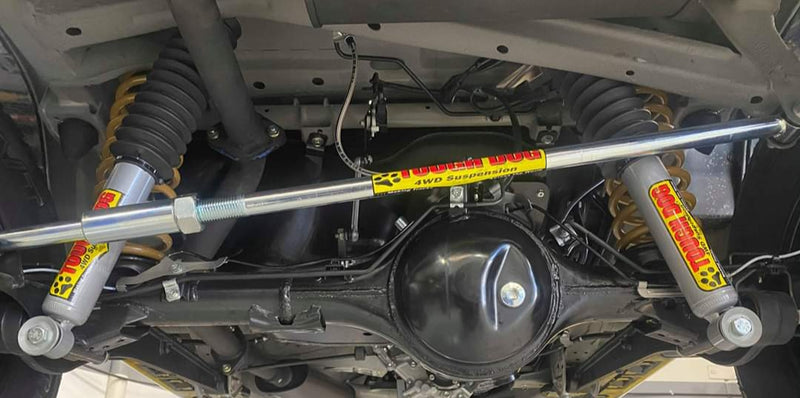 TOUGH DOG 4WD SUSPENSION Adjustable Rear Panhard Rod (Jimny Year - 2018+)