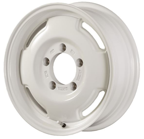 "APIO Wildboar SR Cotton White Wheel 15x6"" ET-5"