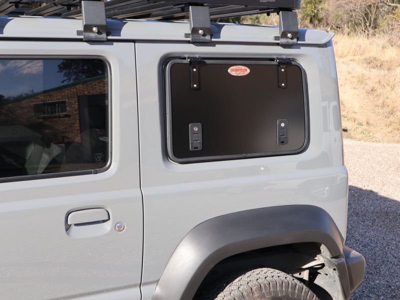 BUSHTECH Gullwing Style Rear Window Replacement (Jimny Year 2018+)