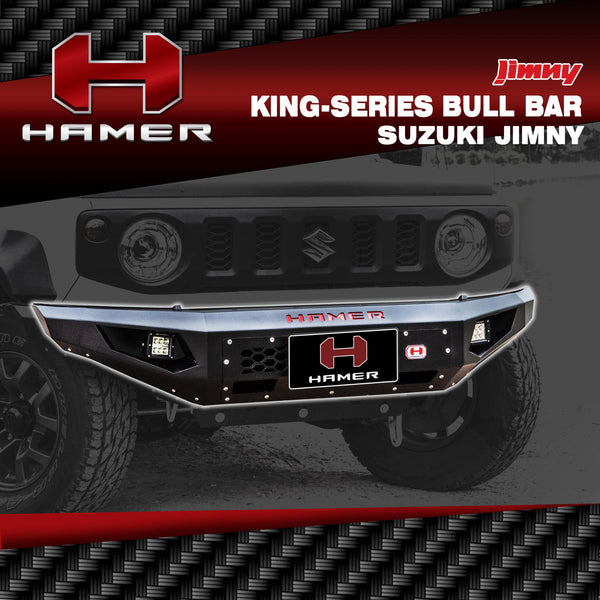 HAMER 4x4 King Series Bull Bar (Jimny Year - 2018+)