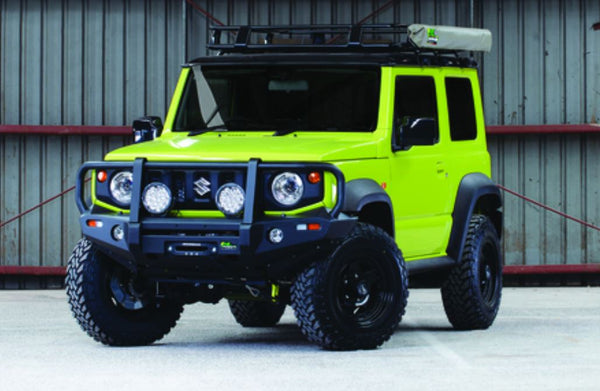 IRONMAN 4x4 Commercial Delux Bull Bar (Jimny Year - 2018+)