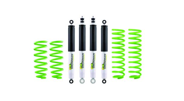 IRONMAN 4x4 50mm Suspension Lift Kit - Constant Front Load of 50-80kg's (Jimny Year - 2018+)
