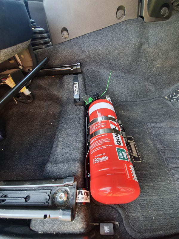 KAP INDUSTRIES Fire Extinguisher/Maglite Bracket *Drivers Side Fitment (Jimny Year - 2018+)
