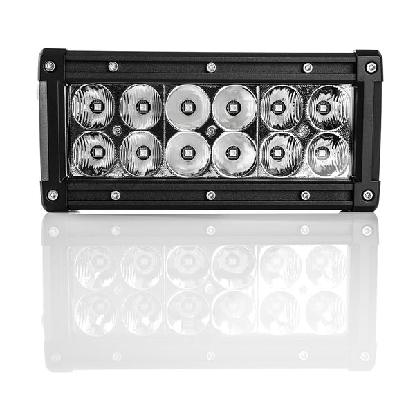 TERALUME INDUSTRIES Double Row LED Flood Light Bar T6 – 6""