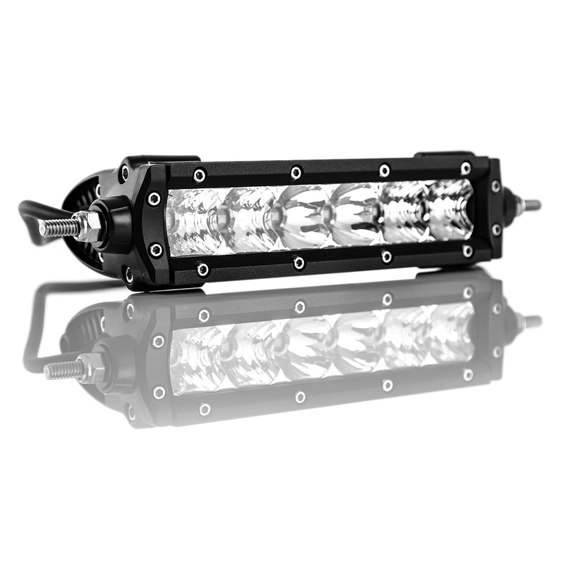 TERALUME INDUSTRIES Single Row LED Flood Light Bar T3 - 6""