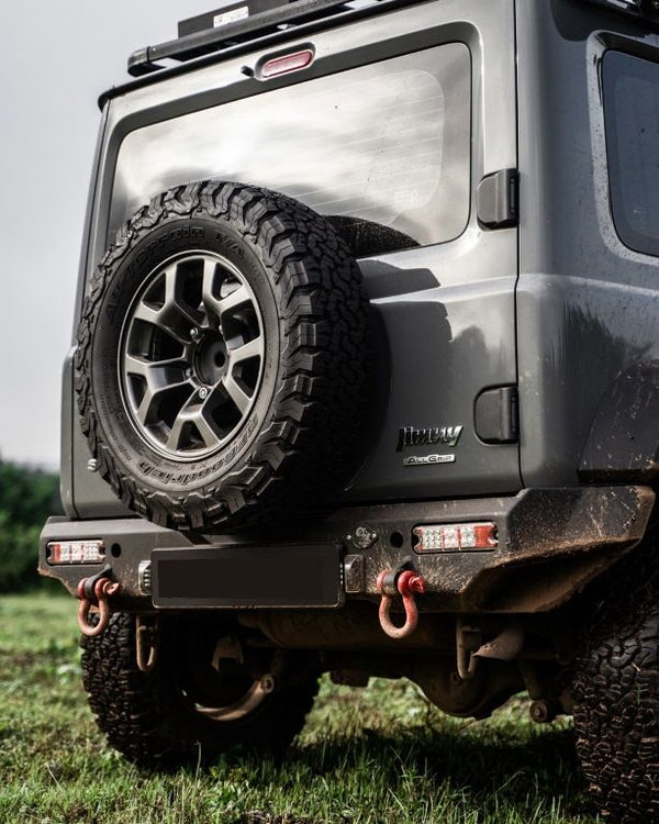 WILDOG ACCESSORIES Steel Rear Bar including Towbar Hitch (Jimny Year 2018+)