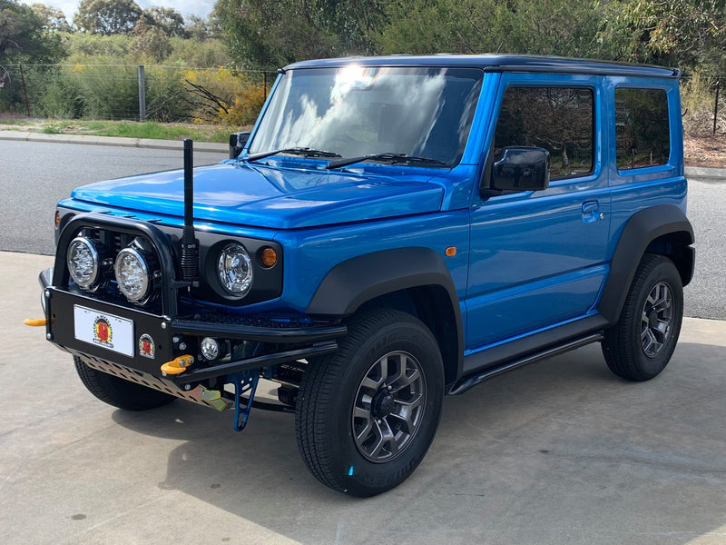 OUTBACK ACCESSORIES AUSTRALIA Rock Sliders (Jimny Year - 2018+)