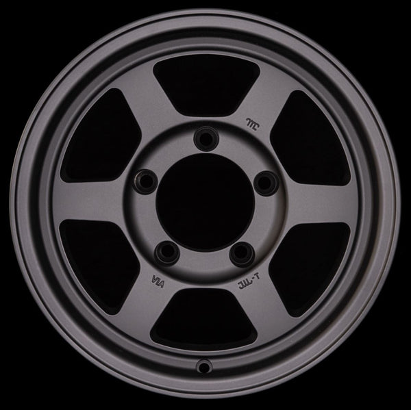 "ROTA GRID Type X 15x7"" Matte Black Alloy Wheel *ET0, 5x139.7"
