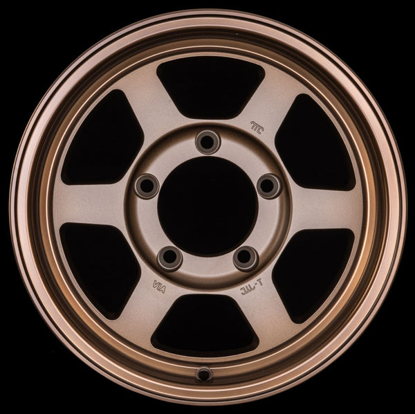 "ROTA GRID Type X 15x7"" Speed Bronze Alloy Wheel *ET0, 5x139.7"