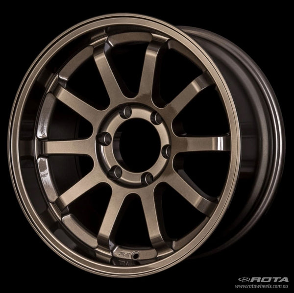 "ROTA J-Vee 16x5.5"" Hyper Black Alloy Wheel *ET-20, 5x139.7"
