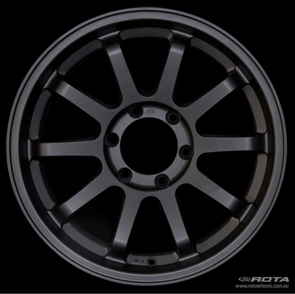"ROTA J-Vee 16x5.5"" Matte Black Alloy Wheel *ET-20, 5x139.7"