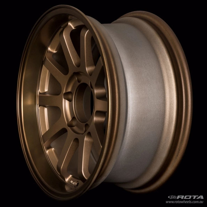 "ROTA J-Vee 16x5.5"" Speed Bronze Alloy Wheel *ET-20, 5x139.7"