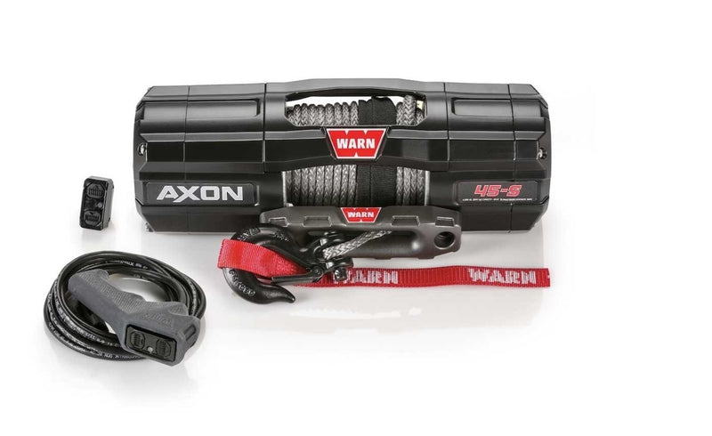WARN AXON 45-S 4,500lbs Winch - 15m Synthetic Rope *Only 13kgs in Weight!