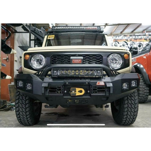 MCC Rocker Bull Bar - Hoopless (Jimny Year - 2018+)