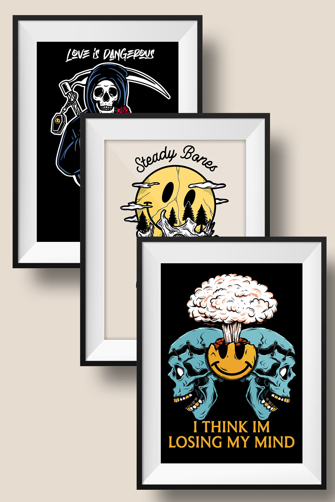 Cheerful Bundle (Set of 3)  // Prints
