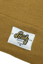 Load image into Gallery viewer, Classic Logo Beanie // Mustard