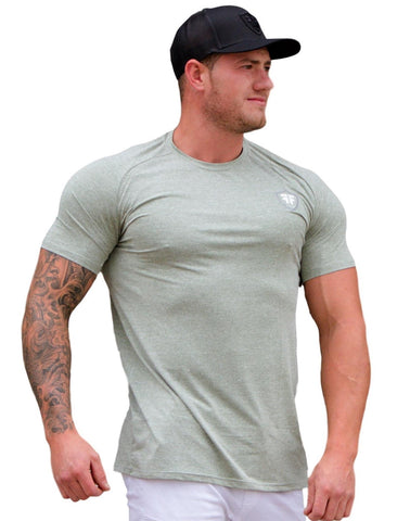 Dri Fit Gym Wear Workout Shirt - Cool Green - Lightweight Training Shirt