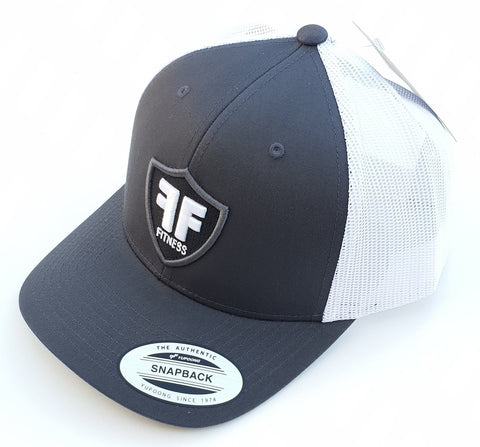 Genuine Yupoong Classics Trucker Cap Hat - Snapback - Grey White