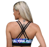 Bight Palm Passion Padded Sports Bra