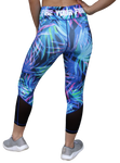 Bright Palm Passion 7/8 Tights Leggings