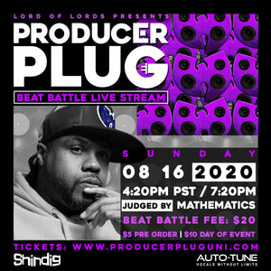MATHEMATICS PRODUCER PLUG BEAT BATTLE LIVE STREAM W MATHEMATICS (WU TANG CLAN)  AUGUST 16TH , 2020