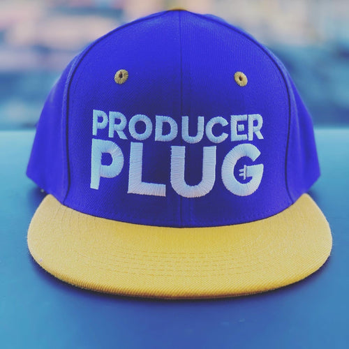 PRODUCER PLUG LAKER COLOR WAY SNAP BACK ( WHITE TEXT)
