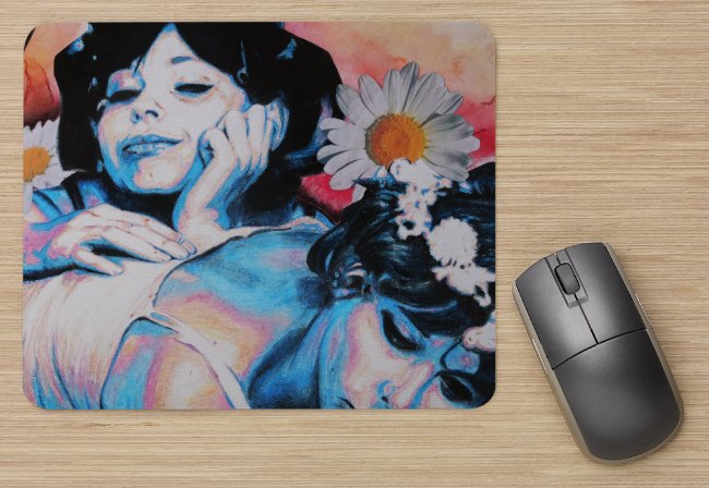 """DAISES"" Mouse Pad"
