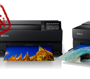 Under Review the new Epson P700 and P900 printers