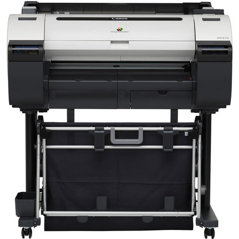 "Canon imagePROGRAF iPF670 24"" Large-Format Inkjet Printer with Stand - Image Pro International"