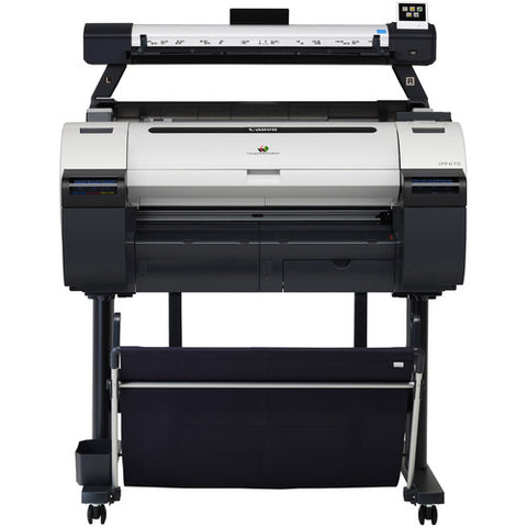 "Canon imagePROGRAF iPF670 24"" Large-Format Inkjet Printer with L24ei MFP Color Scanner Kit - Image Pro International"