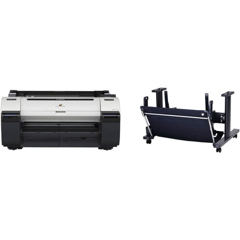 "Canon imagePROGRAF iPF670 24"" Large-Format Inkjet Printer with ST-26 Printer Stand Kit - Image Pro International"