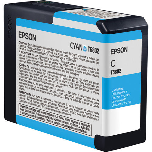 Epson UltraChrome K3 Cyan Ink Cartridge (80 ml) - Image Pro International