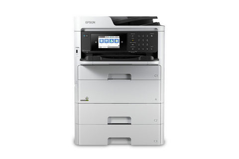 WorkForce Pro WF-C579R Workgroup Color MFP with Replaceable Ink Pack System - C11CG77201BU