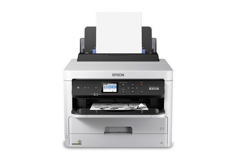 WorkForce Pro WF-M5299 Workgroup Monochrome Printer with Replaceable Ink Pack System C11CG07201