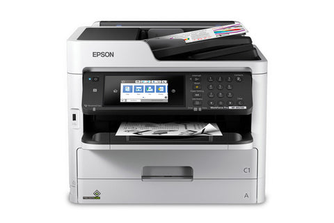 WorkForce Pro WF-M5799 Workgroup Monochrome Printer with Replaceable Ink Pack System C11CG04201