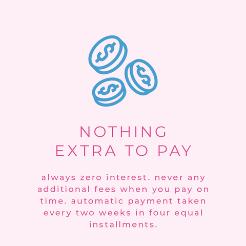 nothing extra to pay