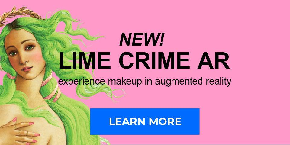 NEW! Lime Crime AR experience makeup in augmented reality